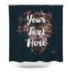 Flowers Custom Shower Curtain