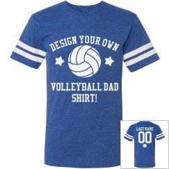 Custom Volleyball Dad Shirt