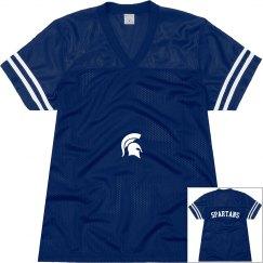 Spartans varsity shirt