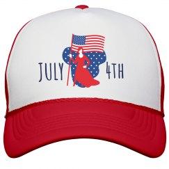 July 4th Patriot Flag