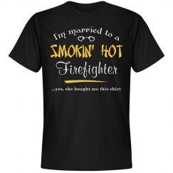 Smokin' hot firefighter