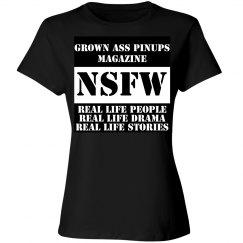 Grown Ass Pinups Magazine Unisex T-Shirt