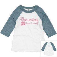 Toddler baseball shirt