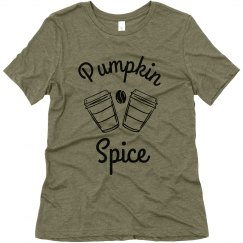 Pumpkin Spice & Everything Nice Matching Tee