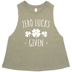 Zero Luckys Given St. Patty's