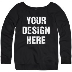 Create Your Own Workout Sweatshirts