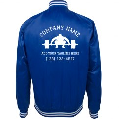 Custom Gym Business Workout Jacket