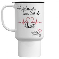 Tons of Heart Travel Mug