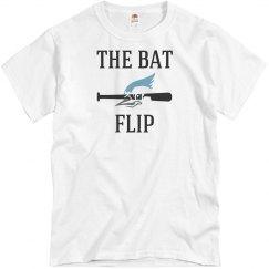 The bat flip