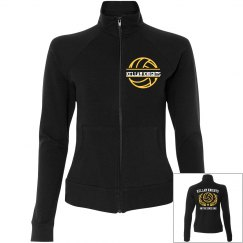 Women's fitted sports jacket