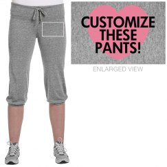 Design Fleece Pants