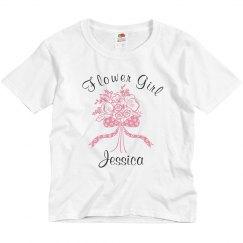 Bride Flower Girl Jessica