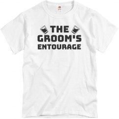 Groom's Entourage