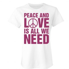 Peace And Love Symbol