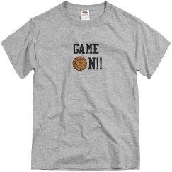 Basketball Game On grey
