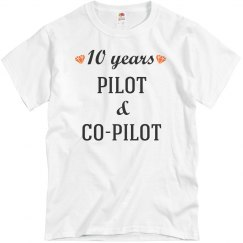 10th anniversary pilot & co-pilot