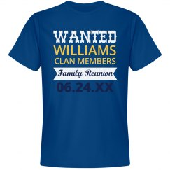 Wanted Family Reunion