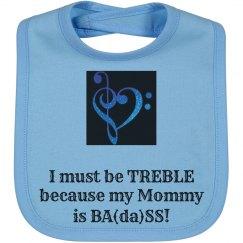 Treble Ba(da)ss (Blue)