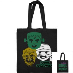 Ghoul Squad Classic Monsters Halloween Bag