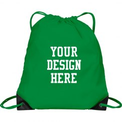 Custom Drawstring Cinch Bag Backpack