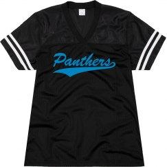 Carolina panthers shirt.