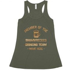 Metallic Shamwrecked Drinking Team