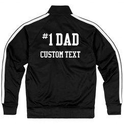 #1 Dad Custom Jacket