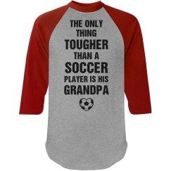 Tough soccer Grandpa