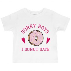 Cute Valentine's Donut Tee