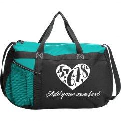 5, 6, 7, 8 Custom Dance Bag