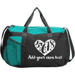 5, 6, 7, 8 Custom Dance Bag