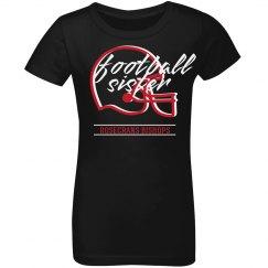 Rosecrans Football Sister Youth tee