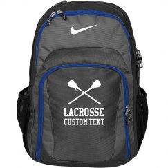 Custom Text Lacrosse Backpack