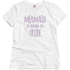 mermaid tribe tee