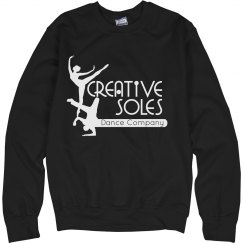 Black Logo Crewneck Sweatshirt - Adult unisex