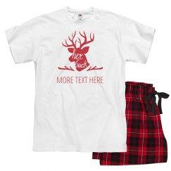 Her Buck Custom Christmas Pajamas