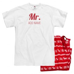 Custom Mr. And Mrs. Holiday Design