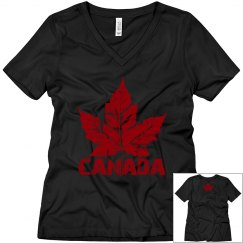 Cool Canada T-shirts Women's Canada Souvenir Shirts