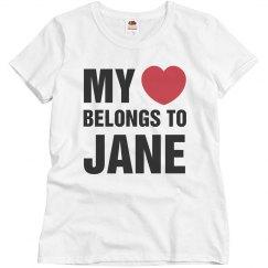 My heart belongs to jane