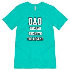 Dad The Man Myth Legend
