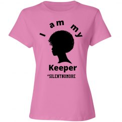 Pink I Am My Sister's Keeper Tee