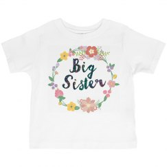 Big Sister matching t 1/2