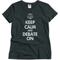 Keep Calm and Debate
