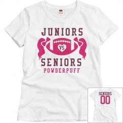 Inexpensive Budget Price Powderpuff Football Shirts