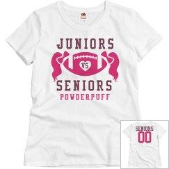 Inexpensive Budget Price Powderpuff Football Shirts