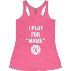 Breast Cancer Softball T