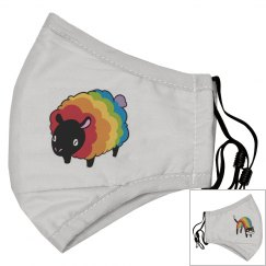 Pride Animals Adult Mask - Adjustable