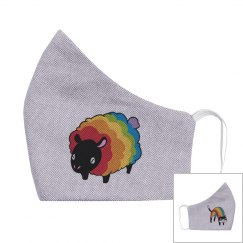 2-ply Pride Animals Youth Mask