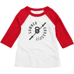 SCF toddler baseball tee