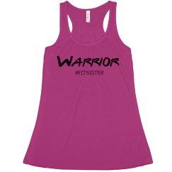 WARRIOR #fitsister - Flowy Tank